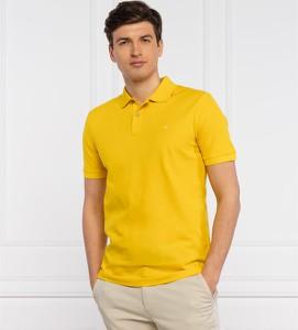 Koszulka polo Calvin Klein z bawełny z krótkim rękawem