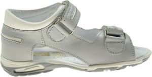 Buty dziecięce letnie Bartuś ze skóry na rzepy