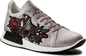 Buty sportowe hego's milano sznurowane z płaską podeszwą