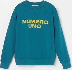 Turkusowa bluza dziecięca Reserved