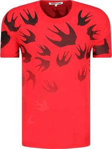 T-shirt McQ Alexander McQueen z krótkim rękawem z nadrukiem
