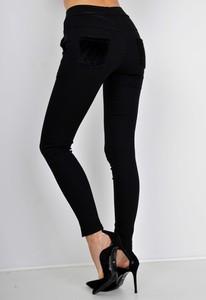 Czarne spodnie Zoio w stylu casual