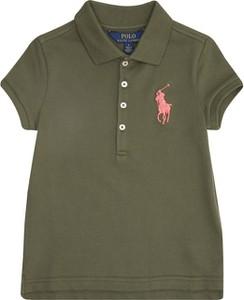 Koszulka dziecięca POLO RALPH LAUREN z bawełny z krótkim rękawem