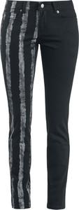 Czarne jeansy Forplay w street stylu
