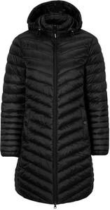 Czarny płaszcz męski Cellbes w stylu casual