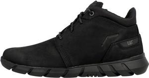 Czarne buty sportowe Caterpillar sznurowane
