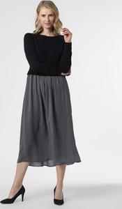 Sukienka MaxMara rozkloszowana maxi z długim rękawem