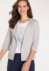Bluza Olsen z bawełny krótka