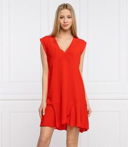 Czerwona sukienka Pepe Jeans mini