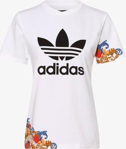 T-shirt Adidas Originals z krótkim rękawem z bawełny w sportowym stylu