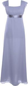 Sukienka Fokus z krótkim rękawem z przeźroczystą kieszenią w stylu glamour