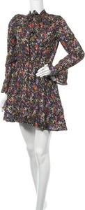 Sukienka Derek Lam z okrągłym dekoltem mini w stylu casual