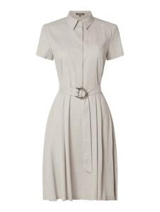 Sukienka Montego w stylu casual midi koszulowa
