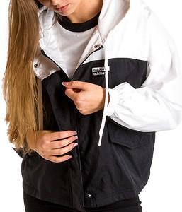 kurtki wiosenne adidas czarne damskie
