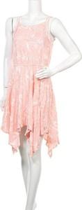 Sukienka Piping Hot mini bez rękawów