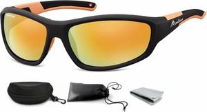 Stylion Sportowe okulary czarne z Polaryzacją MONTANA SP311A