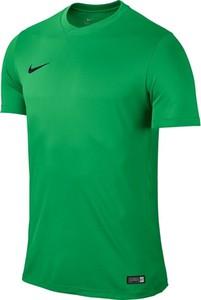 Zielona koszulka dziecięca Nike