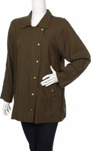Zielona kurtka Sportsgirl długa w stylu casual
