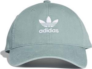 Miętowa czapka Adidas