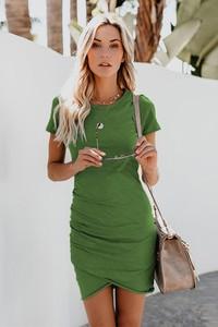 Sukienka Ivet.pl w stylu casual z krótkim rękawem mini