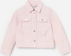 Różowa kurtka dziecięca Reserved z bawełny
