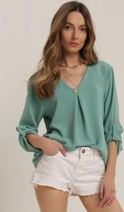 Miętowa bluzka Renee
