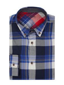 Koszula S.Oliver Red Label z klasycznym kołnierzykiem z długim rękawem z bawełny