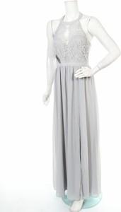 Sukienka Nly Eve z dekoltem w kształcie litery v maxi