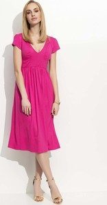 4fa43a3763ff9 sukienka fuksja jakie buty. - stylowo i modnie z Allani