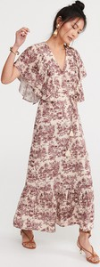 Sukienka Reserved z satyny w stylu casual