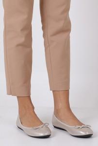 Baleriny Casu z płaską podeszwą w stylu casual