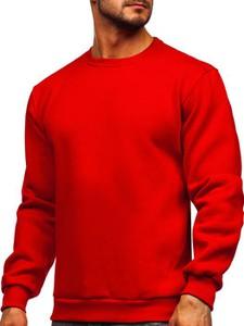 Czerwona bluza Denley w stylu casual