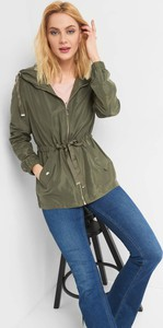 d7dfe512e8a04 Zielona kurtka ORSAY w stylu casual krótka