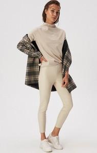 Legginsy Sinsay ze skóry ekologicznej w stylu casual