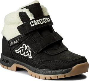 Buty dziecięce zimowe Kappa dla chłopców na rzepy