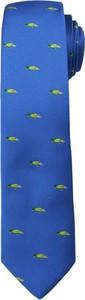 Granatowy krawat Angelo Di Monti