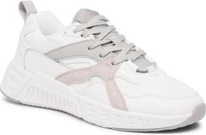 Buty sportowe Sprandi ze skóry sznurowane