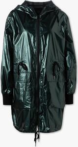 Zielona kurtka CLOCKHOUSE długa