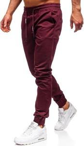 Czerwone spodnie Denley