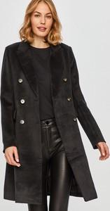 Czarny płaszcz Answear Lab z wełny
