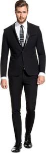 Czarny garnitur giacomo conti
