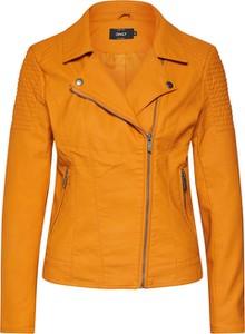 Pomarańczowa kurtka Only krótka