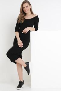 Sukienka born2be z długim rękawem w stylu casual