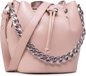 Różowa torebka Jenny Fairy matowa średnia w wakacyjnym stylu