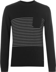 Granatowy sweter Pierre Cardin