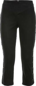 Czarne spodnie bonprix BODYFLIRT boutique