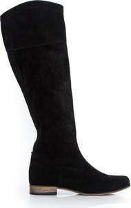 Kozaki Zapato z płaską podeszwą przed kolano w stylu boho