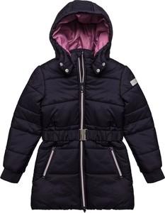 Granatowy płaszcz dziecięcy Esprit