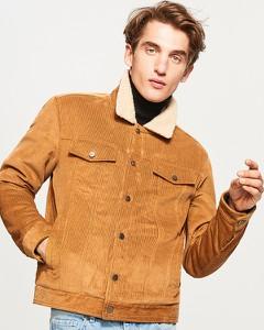 Pomarańczowa kurtka Reserved w stylu casual
