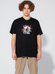 T-shirt LOCAL HEROES z bawełny z krótkim rękawem
